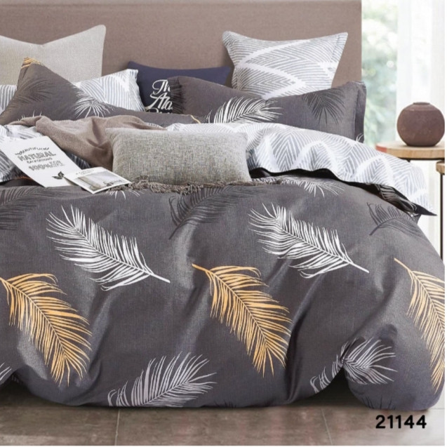 Комплект постельного белья Viluta ранфорс евро 21144