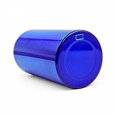 Спортивная алюминиевая бутылка для воды 500 мл L-500, Синий, фото 2