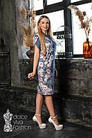 Стильне жіноче плаття великий розмір 46-56, фото 1