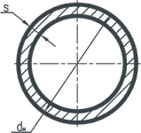 Труба электросварная круглая 51х1,5, 08кп;1-3пс, Длина 6м, ГОСТ 10705, фото 4