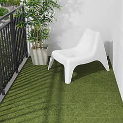 IKEA RUNNEN Плита покрытие, сада, искусственная трава 0.81 м2