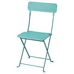 IKEA SALTHOLMEN Стул, мебель, складной/голубой