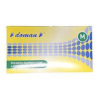 """Рукавички """"DOMAN"""", медичні, нітрилові, неприпудрені, нестерильні, 100 шт./уп. (арт. 115)"""