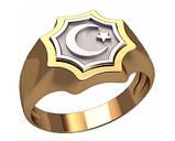 Кольцо  женское серебряное  Всевышний Аллах 30311, фото 2