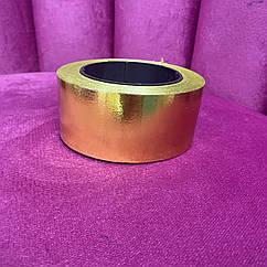 Лента полипропиленовая 50 мм золото