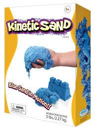 Кинетический песок синий 2,3 кг  Waba Fun