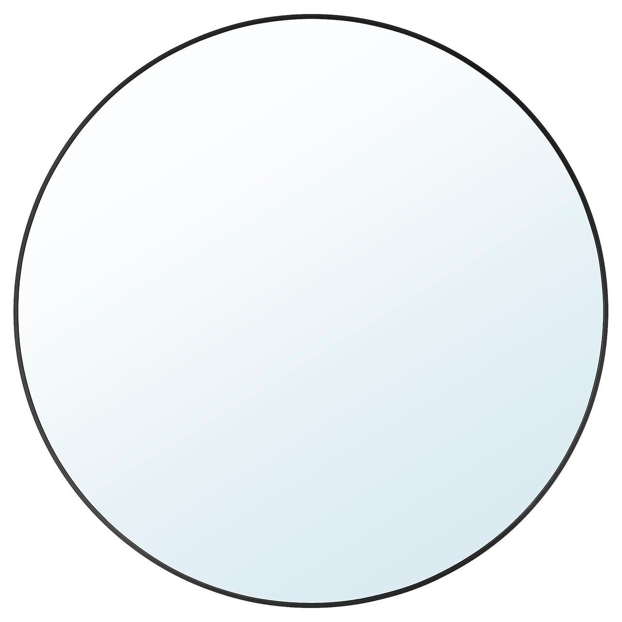 IKEA LINDBYN Зеркало, черный 80 см