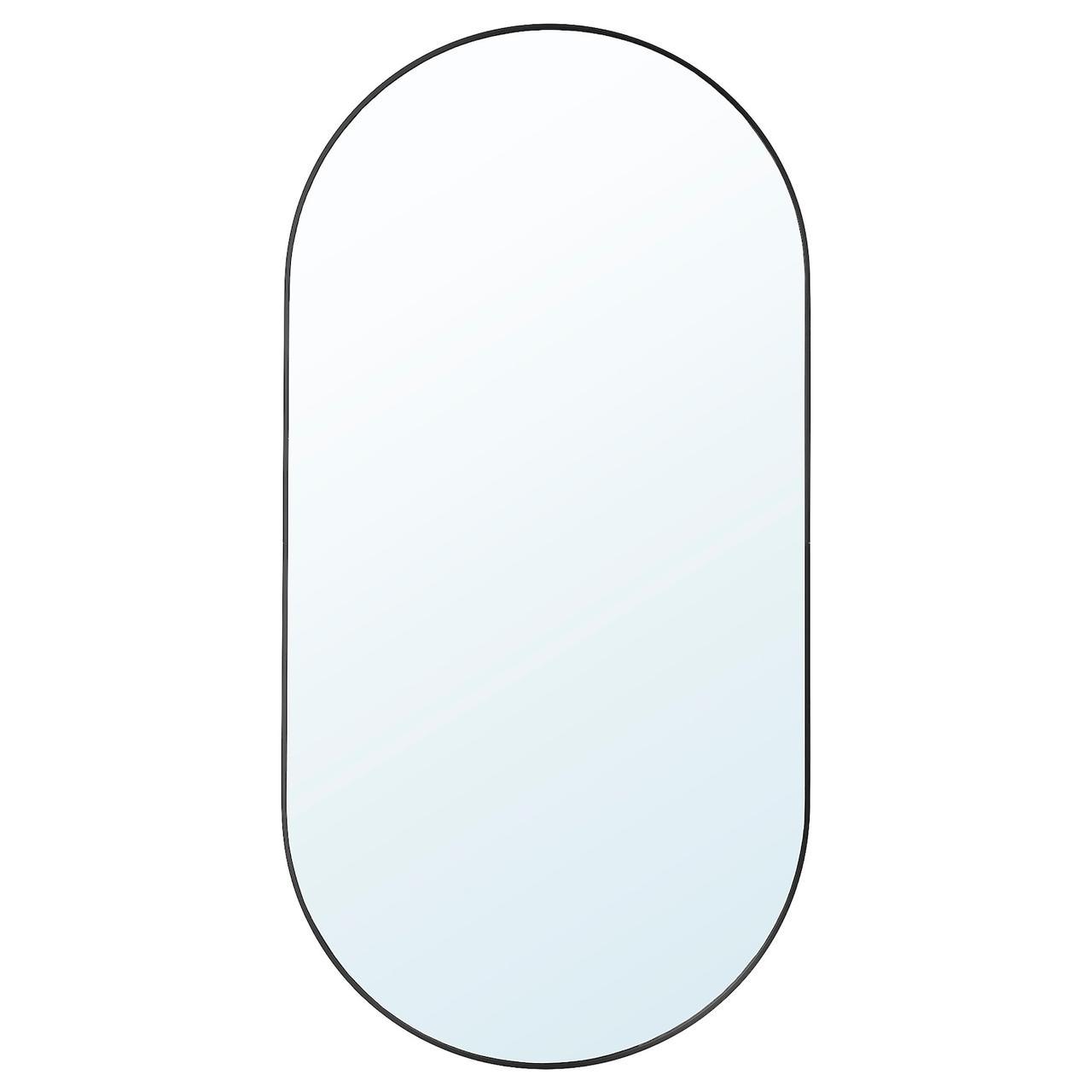 IKEA LINDBYN Зеркало, черный 60x120 см