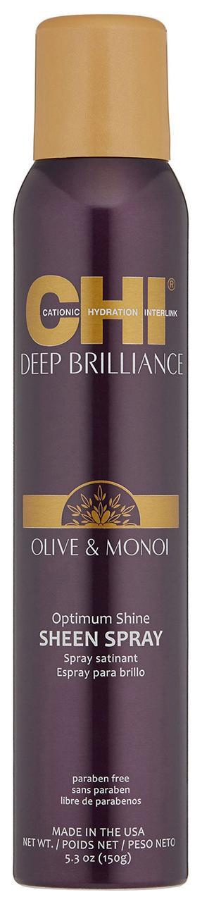 Спрей для придания блеска CHI Deep Brilliance Optimum Shine Sheen Spray 150 g