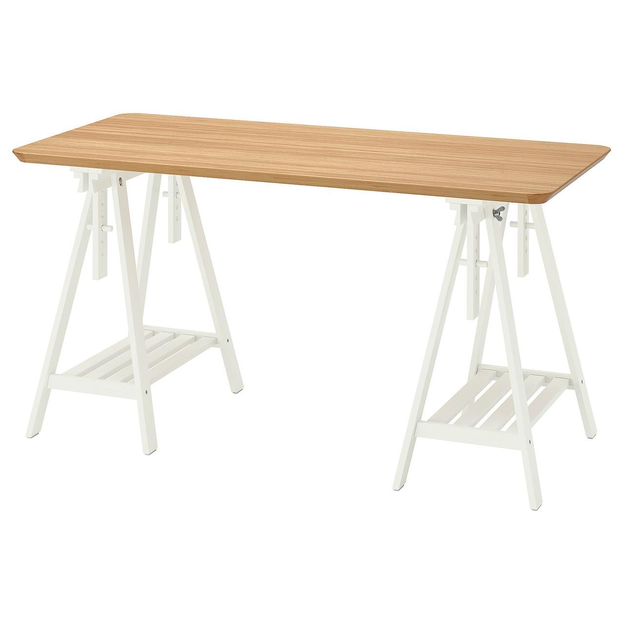 IKEA ANFALLARE / MITTBACK Стіл 140x65