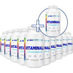 X10 VitaminALL Vitamins and Minerals - 60caps