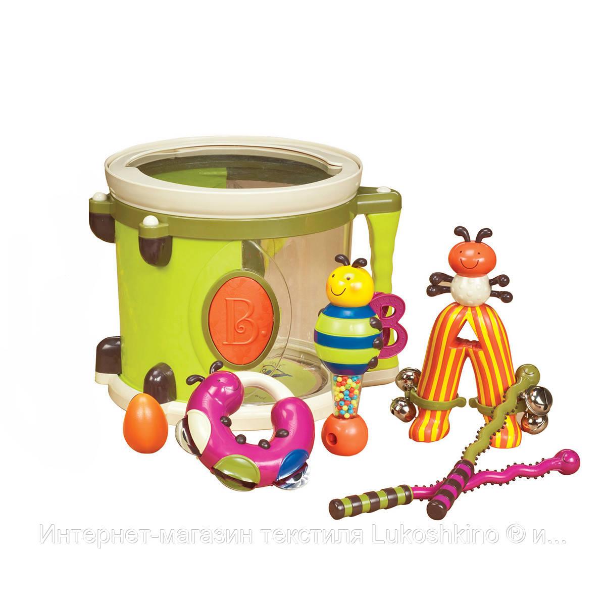 Музична іграшка – ПАРАМ-ПАМ-ПАМ (7 інструментів, у барабані)