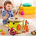 Музична іграшка – ПАРАМ-ПАМ-ПАМ (7 інструментів, у барабані), фото 7