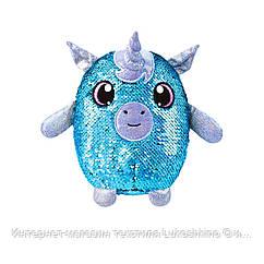 Мягкая игрушка с пайетками SHIMMEEZ S2 - РОМАНТИЧНЫЙ ЕДИНОРОГ (20 см)
