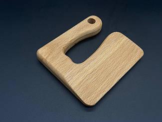 Детские деревянные ножи. 10х9см