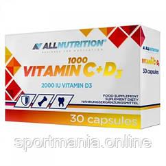 Vitamin C + D3 1000 - 30 caps (Пошкоджена упаковка)