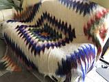 Лижнык Карпатский плед Синие глаза150 х 200 см, фото 4