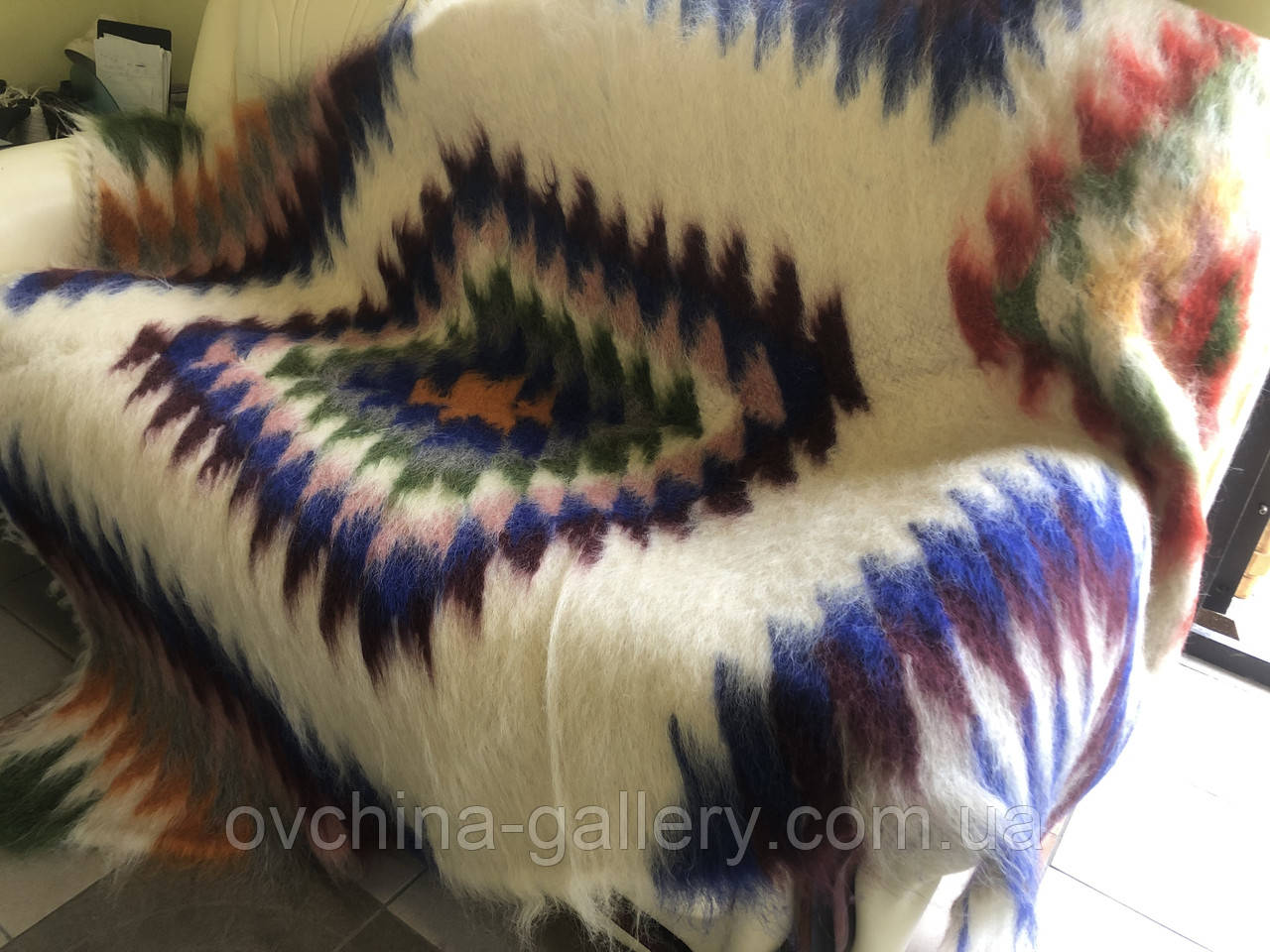 Лижнык Карпатский плед Синие глаза150 х 200 см