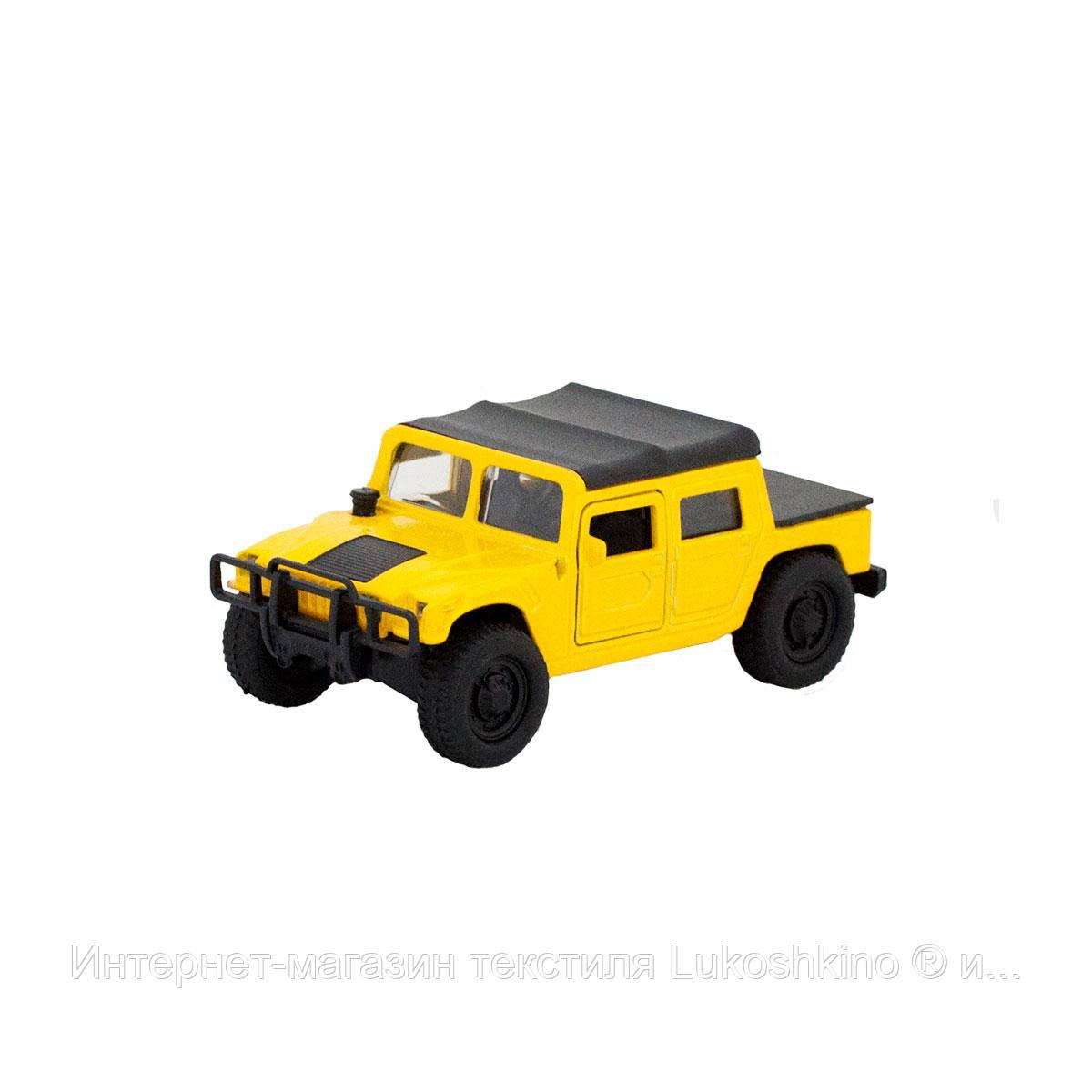 Автомодель - HUMMER H1 (жовтий)
