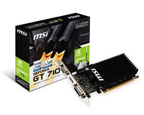 MSI GeForce GT 710 1Gb DDR3 (GT 710 1GD3H LP)