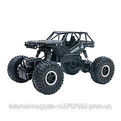 Автомобиль OFF-ROAD CRAWLER на р/у – TIGER (матовый черный, аккум. 4,8V, метал. корпус, 1:18)
