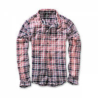 Рубашка Brandit Raven Wire Rot-blau, XXL