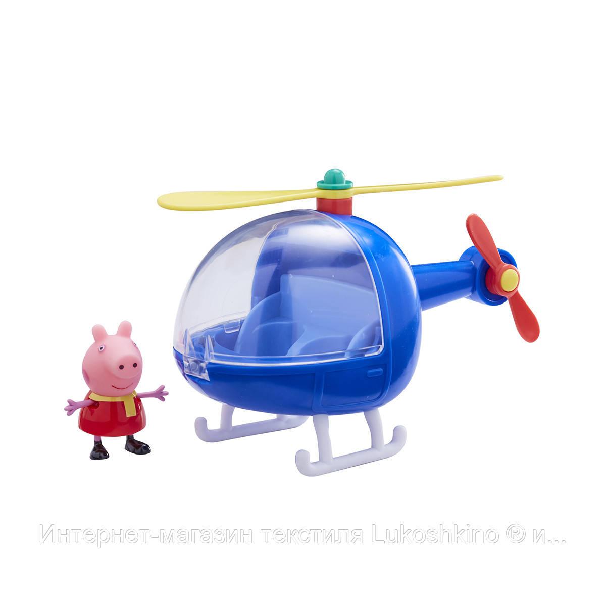 Ігровий набір Peppa - ВЕРТОЛІТ ПЕППЫ (вертоліт, фігурка Пеппы)