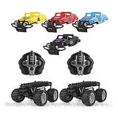 Игровой набор CRASH CAR на р/у – БИТВА КОМАНД (2 модели, 4 корпуса, аккум.4.8V)