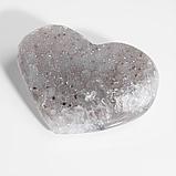 Коллекционный минерал друза из агата халцедон, 855ФГХ, фото 2