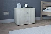 Тумба прикроватная Ультра3 ,Прикроватная  из ДСП цвета Белое от МебельСтиль, фото 3