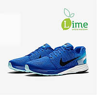Кроссовки, Nike Lunarglide 7 Blue, фото 1