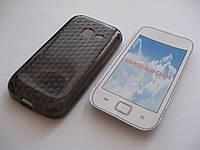Чехол силиконовый Samsung GT-S6802 Galaxy Ace серый