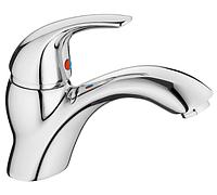 Смеситель на раковину в ванную Haiba VIOLET 001 однорычажный латунный литой кран для умывальника на шпильке