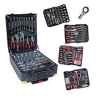 Набор инструментов 408 ед. Большой набор инструмента и ключей с трещеткой 408 шт  Набор ключей для авто