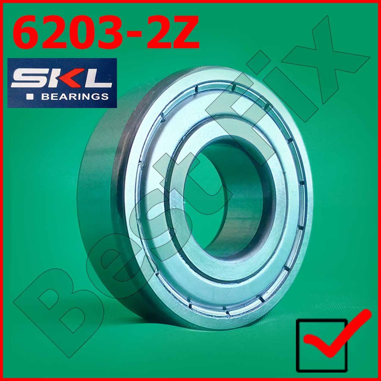 Подшипник 6203 2Z 17-40-12 SKL