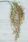 Гілка штучна ампельна 85 см, Квітуча рожева, фото 2
