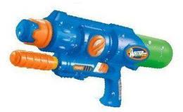 """Водяний пістолет Maya Toys """"Бластер"""" синій (YS323-2)"""