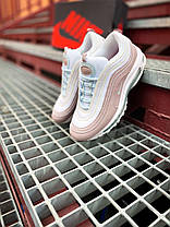"Nike air max 97 ""Pink/White"", фото 2"