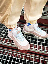 "Nike air max 97 ""Pink/White"", фото 3"