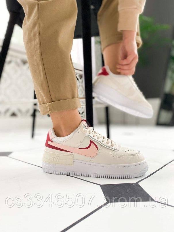 Nike Air Force 1 Low Shadow Phantom Echo Pink