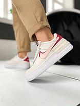 Nike Air Force 1 Low Shadow Phantom Echo Pink, фото 3