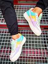 Nike Air Force 1 Shadow Blue-Pink, фото 3