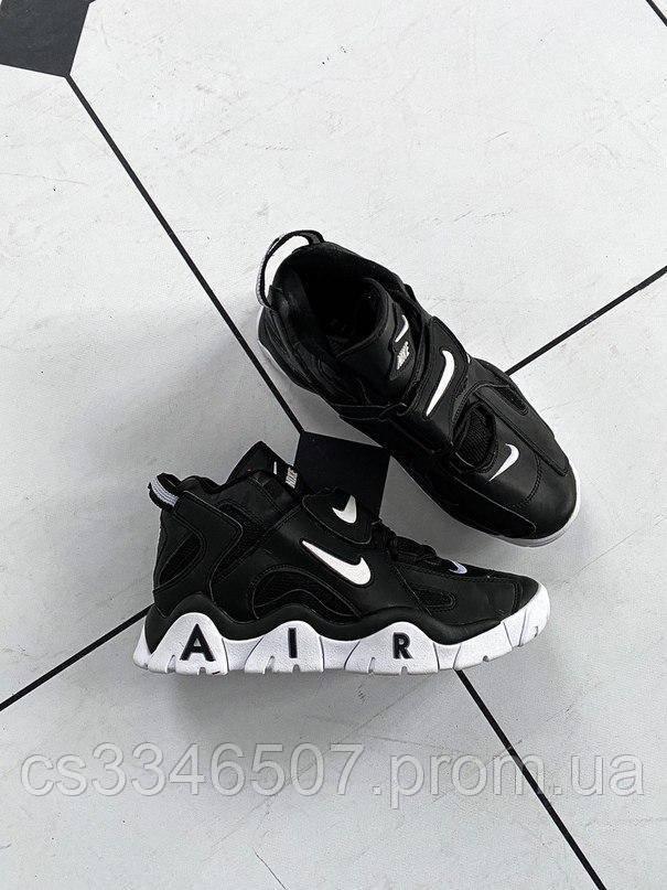 Nike Air Barrage Mid QS UniversityMid Black White