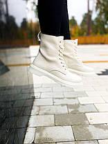 Dr.Martens 1460 Cream White (Premium), фото 3