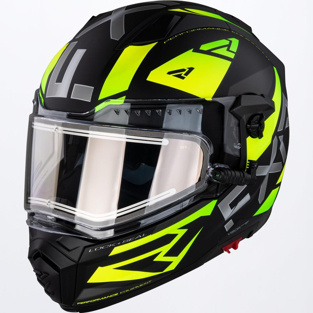 Модулярный шлем FXR Racing Hi-Vis Maverick с электро подогревом