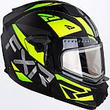 Модулярный шлем FXR Racing Hi-Vis Maverick с электро подогревом, фото 3
