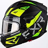 Модулярный шлем FXR Racing Hi-Vis Maverick с электро подогревом, фото 4