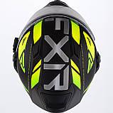 Модулярный шлем FXR Racing Hi-Vis Maverick с электро подогревом, фото 6