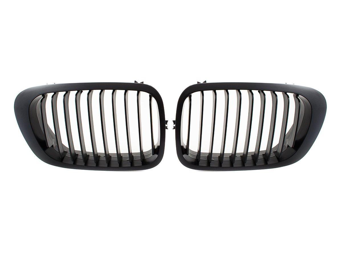 BMW 3 E46 99-04 купе кабриолет решетка между фарами (ноздри) черный левая сторона + правый комплект., арт.