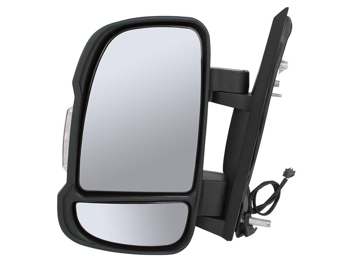 Citroen Jumper 2006- наружное зеркало механическое левое, Код-3256